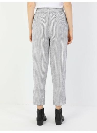 Colin's Regular Fit Orta Bel Düz Paça Kadın Pantolon Renkli